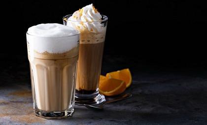 Koffie met sinaasappel