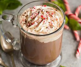 Koffie met pepermunt